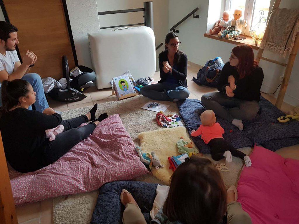 atelier signes avec bébé